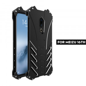 R-Just Ultra Thin Aluminum Alloy Metal Protective Case For Meizu 16th/16th Plus