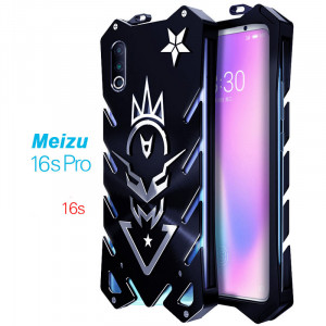 SIMON New Style Cool Aluminum Metal Frame Bumper Protective Case For Meizu 16s Pro/16s/16XS