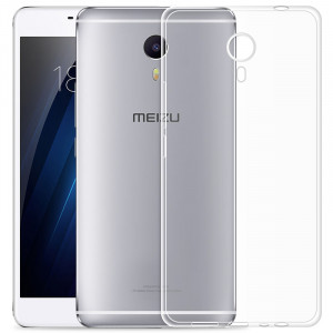 Transparent Silm Soft TPU Case for Meizu M3 Max