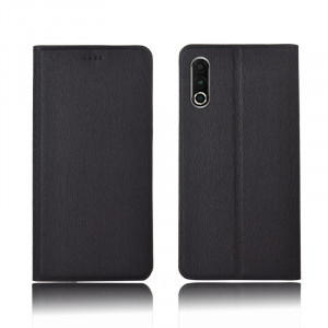 Tree Texture Classic Flip PU Leather Protective Case For Meizu 16S Pro