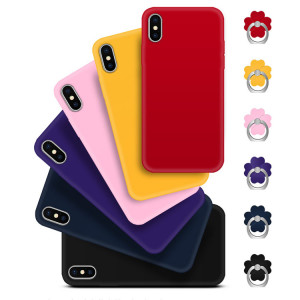 Ultra-thin Solid Color Soft TPU Back Cover Case For Meizu Pro 7/Pro 7 Plus
