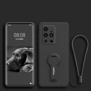 Ultra Thin Full Protection Silicone Case With Invisible Bracket For MEIZU 18S Pro