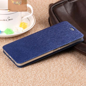 Ultra Thin Silk Series Flip Leather Protective Case For Meizu M3X