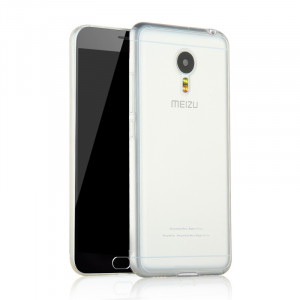 Ultra Thin Transparent Series Soft TPU Cover Case For Meizu Metal