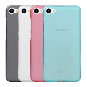 Ultra Thin Transparent Soft Silicone Protective Case for Meizu U10 U20