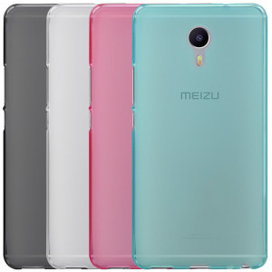 Ultrathin Transparent Soft TPU Case for Meizu M3 Max