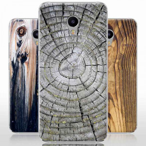 Vintage Wood Grain Series Hard Shell Protective Case For Meizu M3E