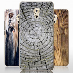 Vintage Wood Grain Series Hard Shell Protective Case For Meizu Pro 6 Plus