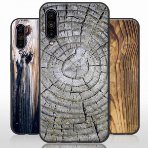 Vintage Wood Grain Series Soft Silicone TPU Protective Case For Meizu 16T