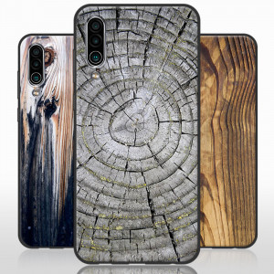 Vintage Wood Grain Series Soft Silicone TPU Protective Case For Meizu 16XS