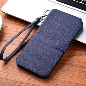 Wood Texture Wallet Style Classic Flip Leather Protective Case For Meizu 16T