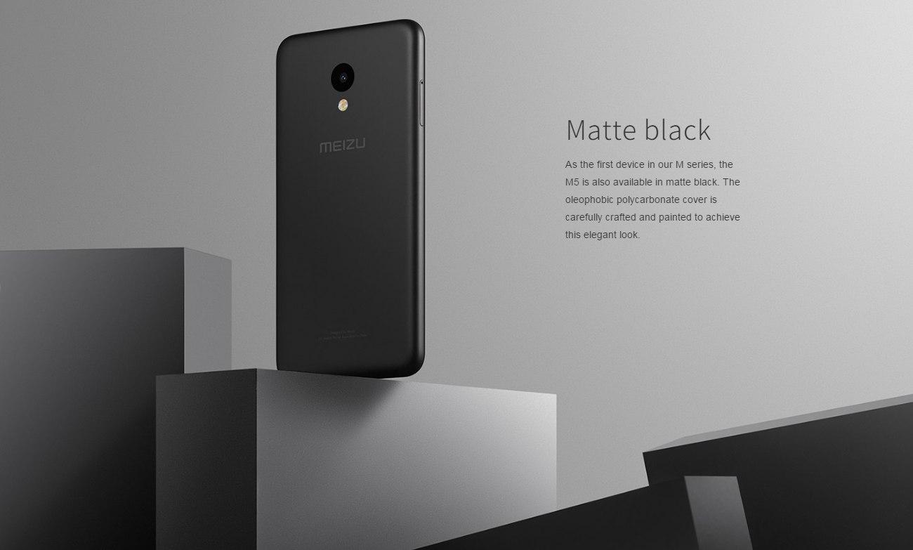 Meizu M5 - 2GB RAM - 16GB - Fingerprint - Black