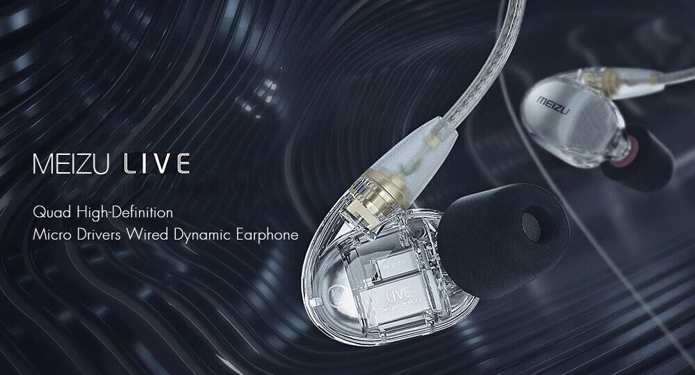 Meizu LIVE earphone