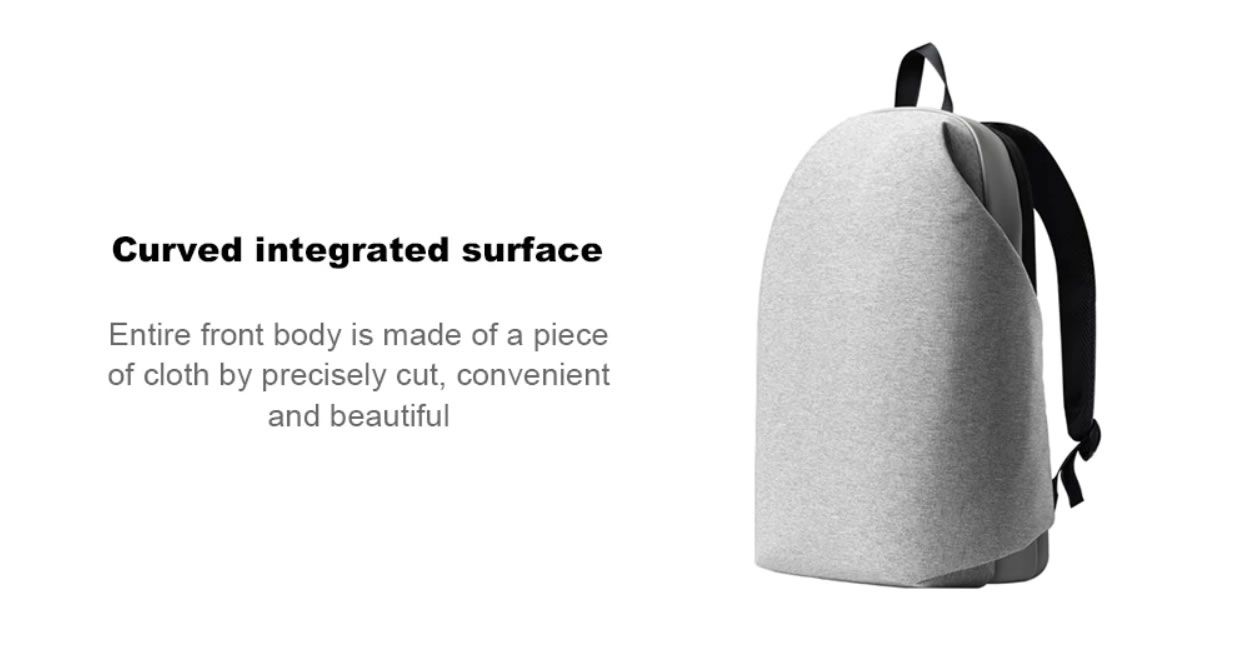 Original Meizu Leisure Travel Backpack