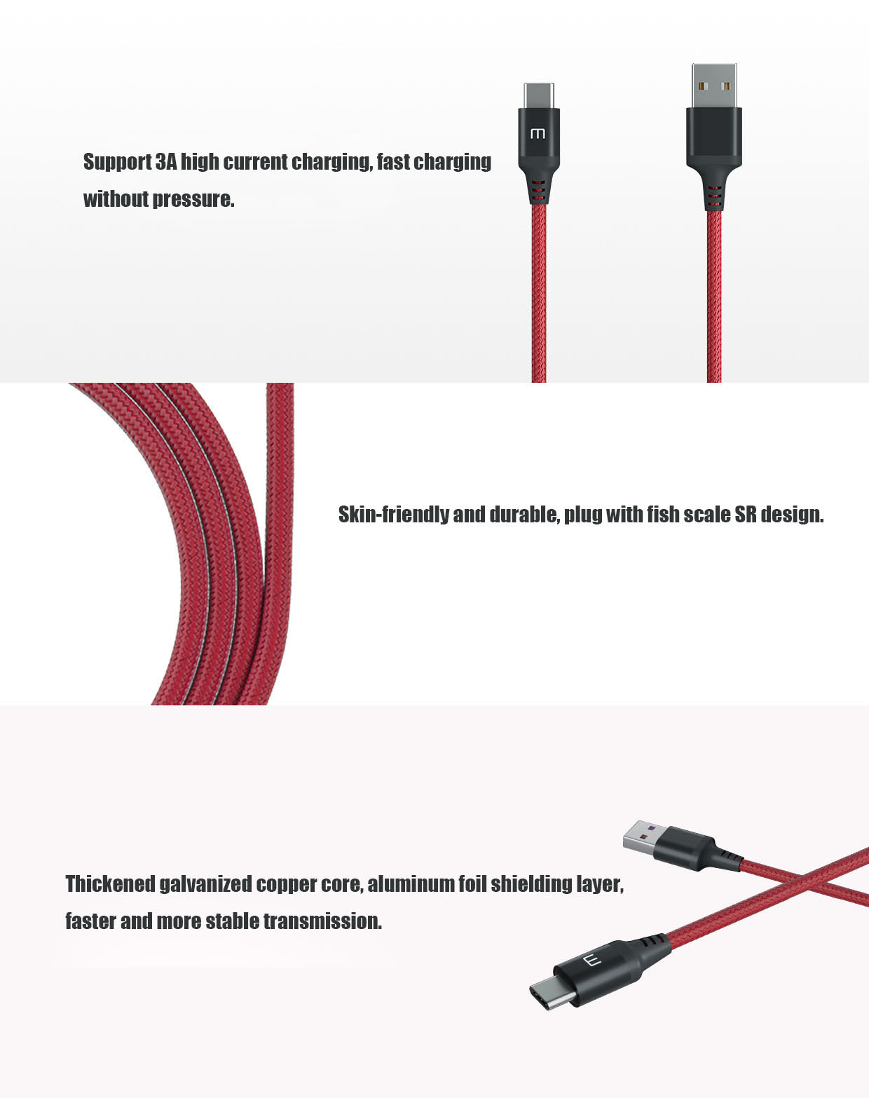 Original MEIZU Type-C Metal Cable