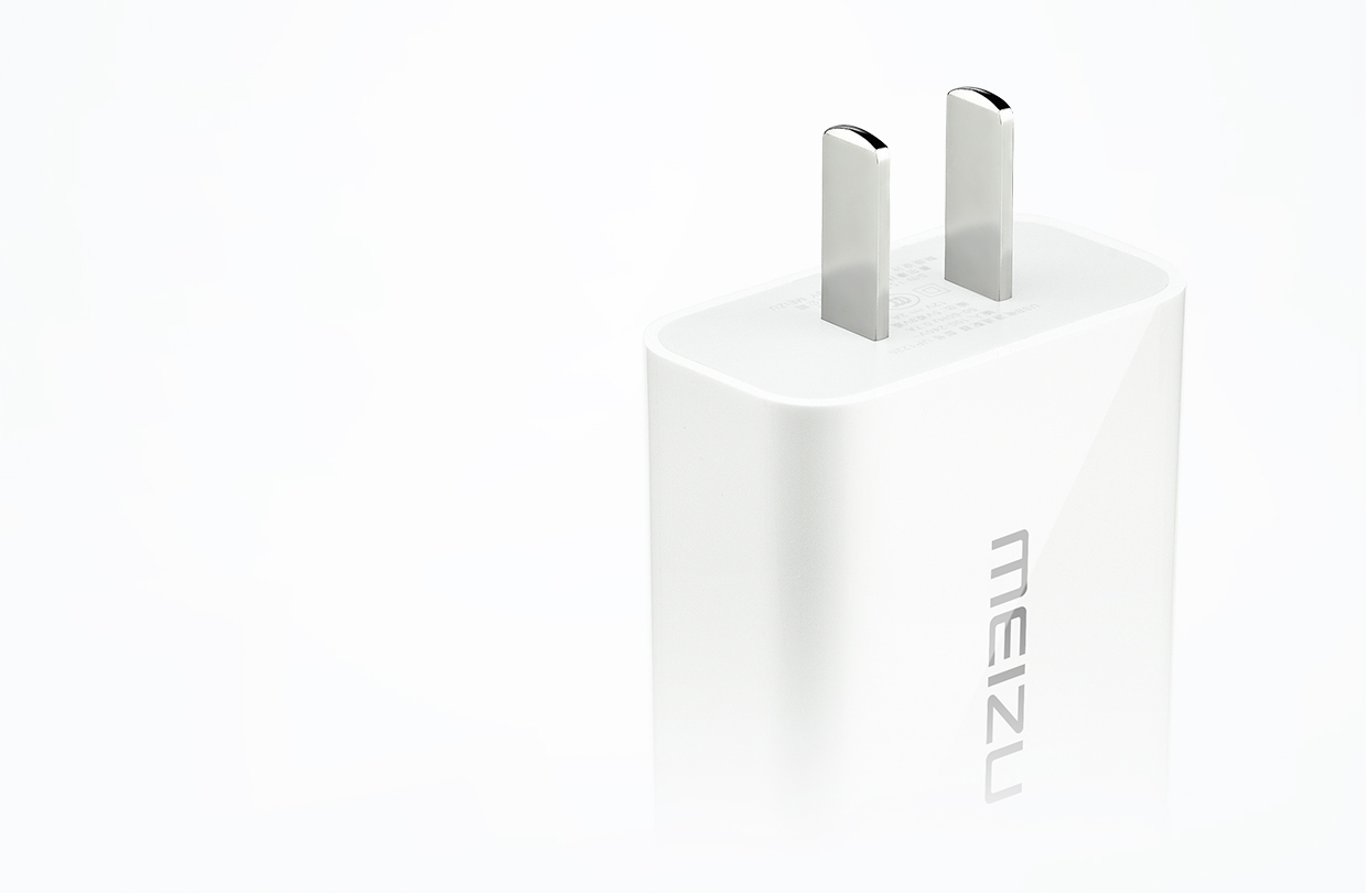 Original Meizu USB Port Fast Charger Adapter