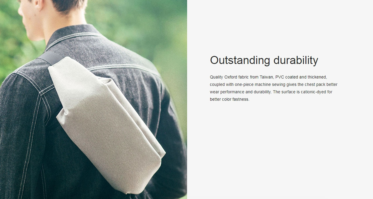 original meizu chest bag