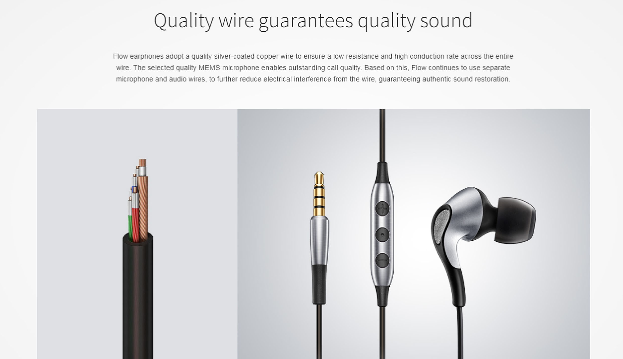 meizu flow in ear hifi earphone