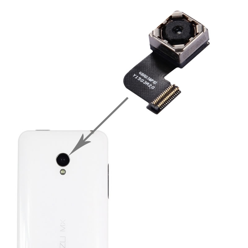 Rear Back Camera Replacement for Meizu M2 Note