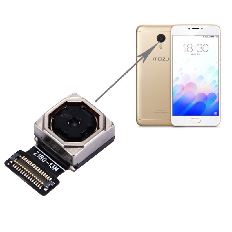 Rear Back Camera Replacement for Meizu M3