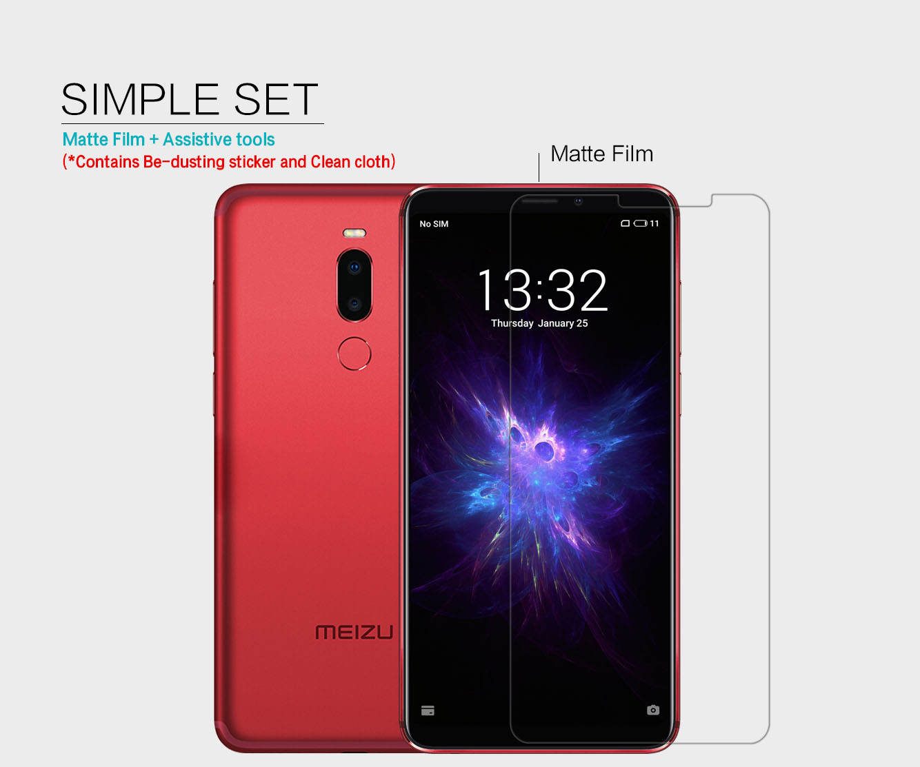 Meizu M8 Note screen film