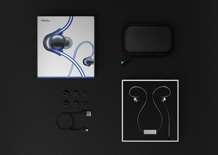 Meizu Halo Bluetooth Headset With Glowing Laser Light